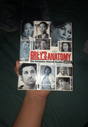 GREY'S ANATOMY The Complete Second Season UNCUT for Sale in Riverdale Park, MD