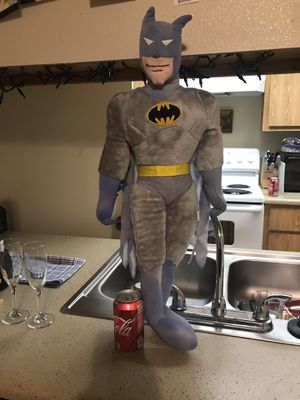 30' vintage cool looking Batman. Coke can beside it reflects the size for Sale in Fresno, CA