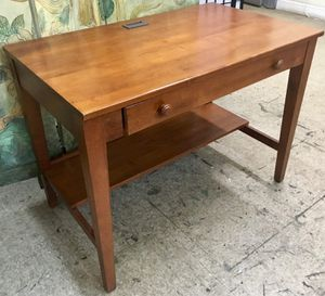 Hardwood 1 Drawer Desk by Ethan Allen for Sale in Philadelphia, PA