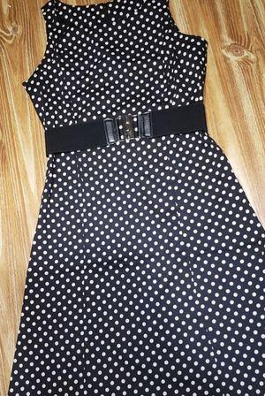 Cute polka dot mid length XL dress for Sale in Crofton, MD