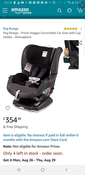 new Peg Perego Primo Viaggio Convertible Car Seat - Atmosphere for Sale in Bakersfield, CA