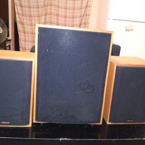 Klipsch 3 Speaker/Subwoofer for Sale in St. Petersburg, FL
