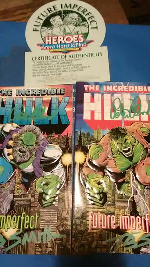 Hulk Future Imperfect Signed Comic Books for Sale in Little Egg Harbor Township, NJ