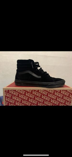 All black van size 11 for Sale in Philadelphia, PA