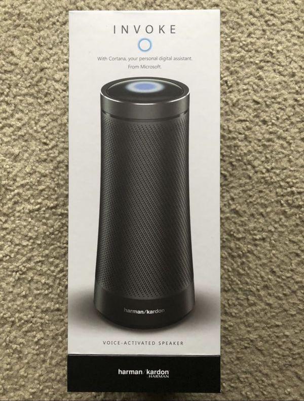 New harman kardon Invoke Bluetooth Wireless Speaker with Cortana assistant