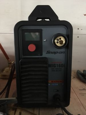 Snap on mig welder for Sale in Stoughton, MA