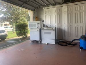 Oven dishwasher & microwave GE for Sale in PT ORANGE, FL
