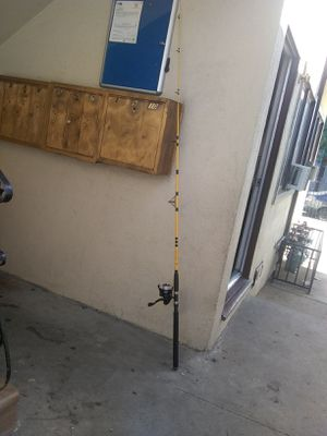 Fishing rod and reel/extra reel for Sale in Los Angeles, CA