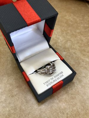 Woman's ring 1/10 CT TW Diamond Ring size 7 for Sale in Vancouver, WA