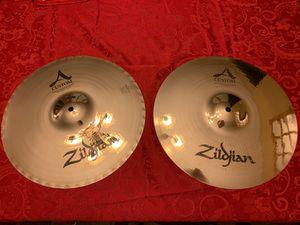 Zildjian 14in A Custom Mastersound Hi-Hats for Sale in Saint Charles, MO