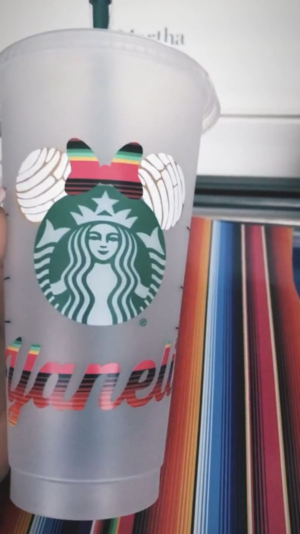 Custom Starbucks Cups!