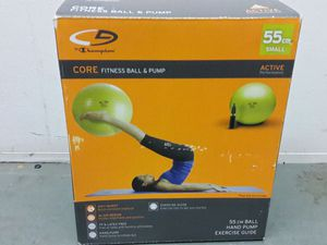 BRAND NEW Fitness Ball for Abs, Pilates, Yoga Workouts , or Chair Substitute -MAKE OFFER - MOVING!!! for Sale in Seattle, WA