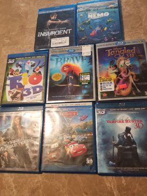 3D Blu-Ray movies for Sale in Seminole, FL