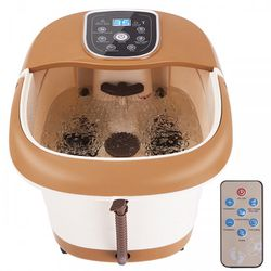 All-in-One Tem/Time Set Heat Bubble Vibration Foot Spa Massager with 6 Massage Rollers for Sale in South El Monte,  CA