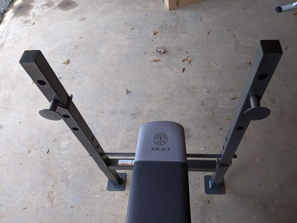 Gold's Gym XR 6.1 Multi-Position Weight Bench with Leg Developer