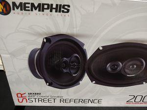 Car speakers : Memphis 6×9 3 way 200 watts per pair peak power speaker for Sale in Bell Gardens, CA