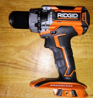 RIDGID 18-Volt Lithium-Ion Cordless Brushless 1/2 in. Compact Hammer Drill/Driver (Tool-Only) for Sale in Temple, GA