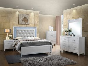 Queen LED bedroom set for Sale in Queens, NY