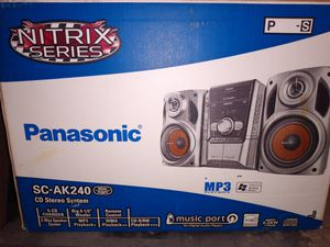 Panasonic NITRIX SERIES CD Stereo System for Sale in Warren, MI