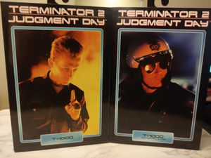 TERMINATOR 2: Judgement Day T-1000 & T-1000 🏍 motorcycle cop👮 7 inch Neca action figure bulk package for Sale in Long Beach, CA