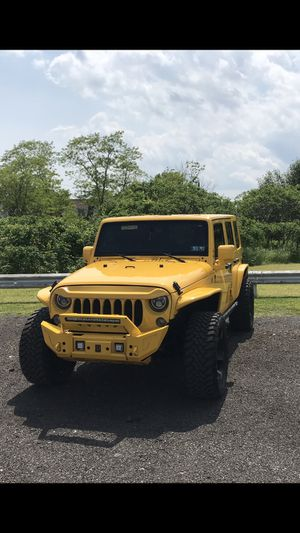 Jeep Wrangler unlimited Sahara for Sale in CT, US