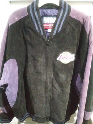 Los Angeles Lakers Vintage Suede Jacket for Sale in Downey, CA