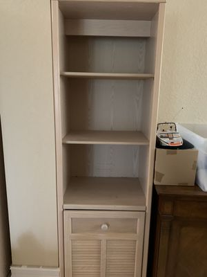 Pair of Bookshelves / display shelves / cabinet. Just reduced. for Sale in FL, US