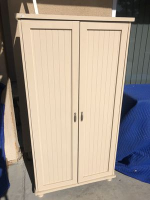 Wood Cabinet with 4 shelves for Sale in Poway, CA