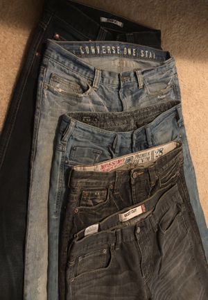 Men's brand name bootcut jeans for Sale in Sterling, VA