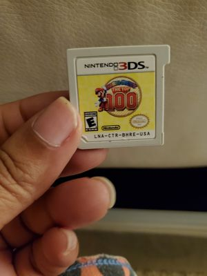 Mario party top 100 for 3ds for Sale in McDonogh, MD