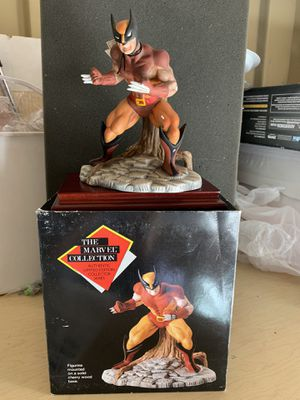 Marvel Collection Wolverine statue for Sale in Vacaville, CA