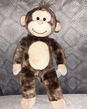 "Build A Bear Brown Soft Monkey Plush Chimpanzee 17"" Stuffed Animal for Sale in Aliquippa, PA"