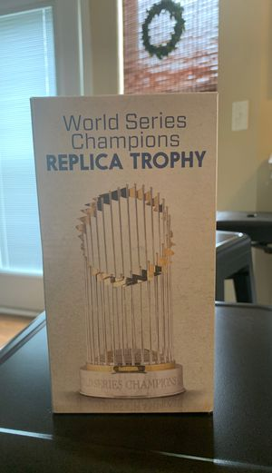 World Series Champions Replica Trophy- RARE for Sale in Lee's Summit, MO