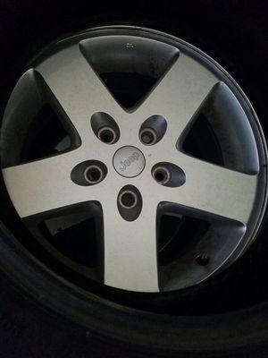 "jeep wrangler 5 lug 17"" wheels for Sale in Lakeland, FL"