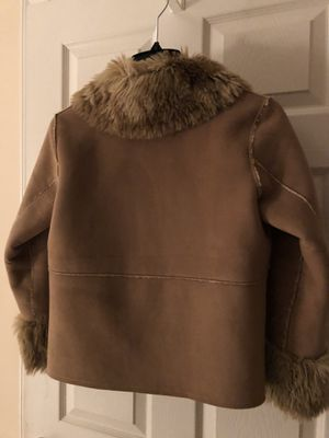 Girls shearland coat by April Cornell size petite, girls size 10-12. Great with Uggs. Hardly worn. $60.00 for Sale in Fairfax, VA