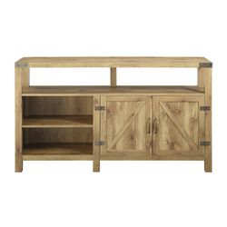 """.Manor Park Modern Farmhouse TV Stand for TVs up to 65"""", Barnwood for Sale in Houston,  TX"""