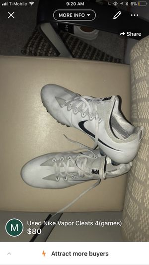 Nike Vapor Cleats for Sale in Gaithersburg, MD