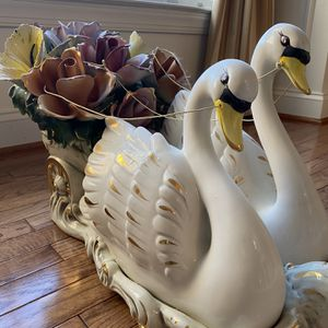 Capodimonte Swan Carriage for Sale in Fairfax, VA