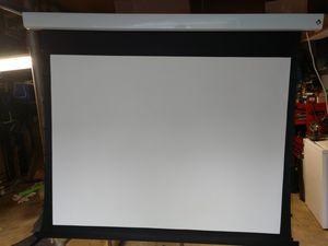 "Perfect VU Motorized 80"" HDTV Projector screen for Sale in Hampton, VA"