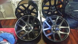 Dodge SRT-10 Gloss Black 22x9 Rims for Sale in Long Beach, CA