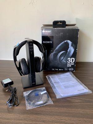 SONY MDR-DS6500 Digital Wireless 7.1 CH / 3D Surround Headphones for Sale in Flower Mound, TX