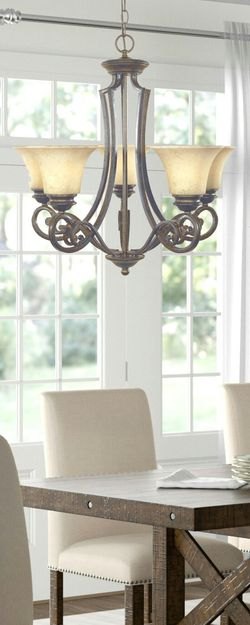 Designers Fountain Mendocino 5 Light Forged Sienna Chandelier Brand New in Box for Sale in Boca Raton,  FL