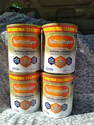 Nutramigen Hypoallergenic Formula 27.8oz Cans for Sale in North Miami Beach, FL
