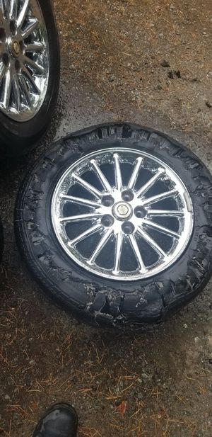 "Chrysler chrome 16"" rims for Sale in Puyallup, WA"