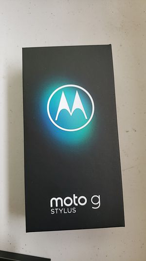 Amazing Moto G stylus! 128 gb memory and 48 mp camera for Sale in Toledo, OH