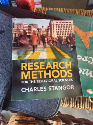 Research methods college textbook for Sale in Templeton, CA