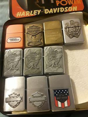 $14 each Harley gently used zippos for Sale in Wahneta, FL
