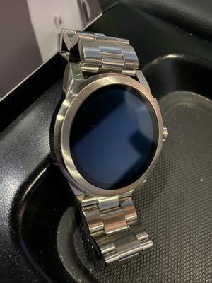 Michael Kors Men's smart watch silver for Sale in Norcross, GA