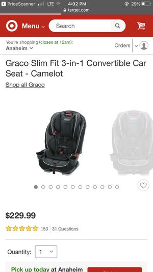 Brand new car seat in the box for Sale in Huntington Beach, CA