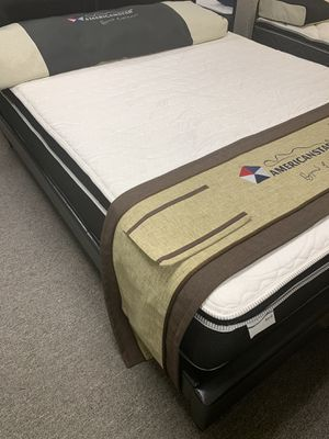 Zero down financing queen-size royal pillow top 10 year warranty for Sale in Irving, TX